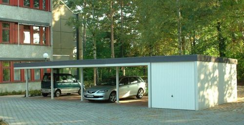 garagen carport stahl carports. Black Bedroom Furniture Sets. Home Design Ideas