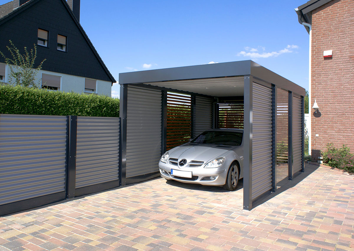 Carport En Garage : Garagen carport startseite